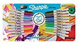 Sharpie Fine Permanent Marker - Special Edition Assorted Colours (Pack of 20)