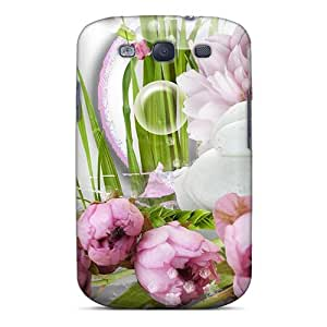 Galaxy Cover Case - Dove In The Garden Protective Case Compatibel With Galaxy S3