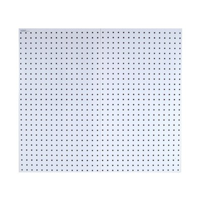 Triton Products LB18-W LocBoard 18x36x9/16-Inch Pegboards, White, 2-Pack