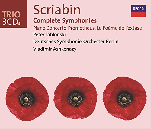 Scriabin: Complete Symphonies / Piano Concerto, etc. (Best Service Complete Orchestral Collection)