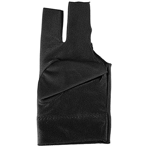 Snooker Left Hand Three Fingertip Glove - 6