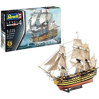 Amazon Heller Hms Victory Boat Model Building Kit Toys Games