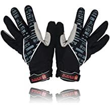 Magnus Innovation EliteX MTB Cycling Gloves for Men - Full Finger Gel Padded Shockproof Touchscreen Reflective Material Bike Gloves for Mountain Cycle - 2 Year Warranty