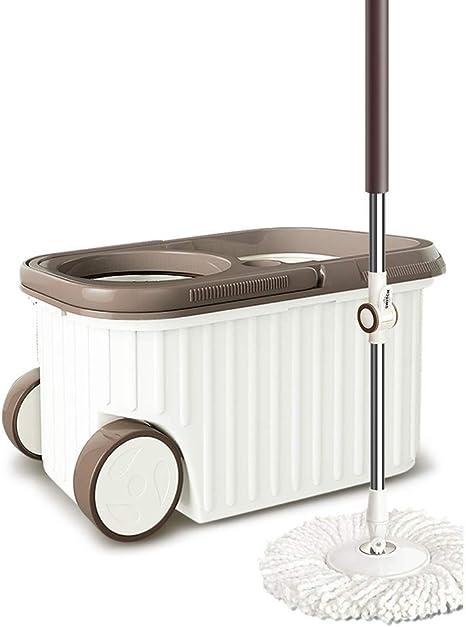 360 ° Super Spin Mop Spinning Mop Bucket Metal Rotación de ...