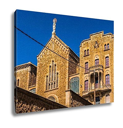 Ashley Canvas, Architecture Of Barcelona Spain, Home Decoration Office, Ready to Hang, 20x25, AG6536080 by Ashley Canvas