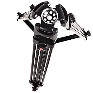 ASHANKS DSLR Camera Tripod Professional Heavy Duty Video Camcorder Tripods Stand with Fluid Drag Head