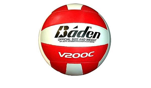 Baden v200C Club voleibol [rojo/blanco]: Amazon.es: Deportes y ...