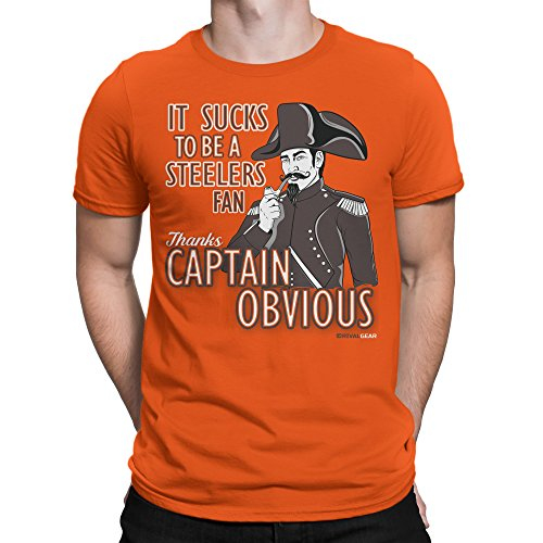 Football T-Shirt, Captain Obvious by ()