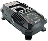 Automotive : Ryobi P118 Lithium Ion  Dual Chemistry Battery Charger for One+ 18 Volt Batteries (Battery Not Included / Charger Only)