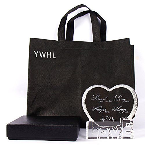 YWHL Love Crystal Sculpture gifts for Anniversary,Wedding,Valentine's Day by YWHL (Image #5)