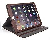 ipad 2 bear motion - iPad Air Case - Bear Motion for iPad Air Leather Case for iPad Air Support Smart Cover Function - iPad Air (iPad Air 2, Brown)