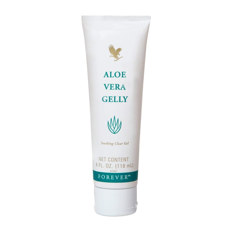 Aloe Vera Gelly 4 fl. oz. 100% stabilized aloe vera gel (pack of 6)