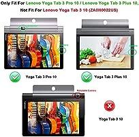 Kepuch Custer Funda para Lenovo Yoga Tab 3 Pus 10.1 YT-X703/Yoga Tab 3 Pro 10.1 YT3-X90L YT3-X90F,Slim Smart Cover Fundas Carcasa Case Protectora de ...