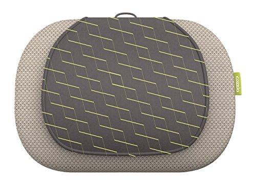 COZZIA 3D Kneading Massage Pillow, Taupe Brown, 14.52 Pound (Cozzia Massage)