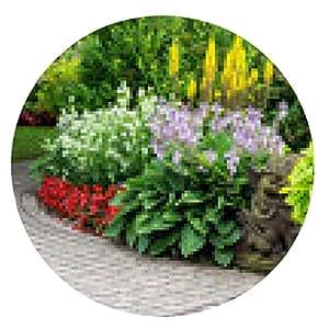 alfombrilla de ratón Jardín de verano - ronda - 20cm