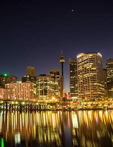 Notebook: Darling Harbour Sydney New South Wales Australia Australian (Outdoor Melbourne Fabric)