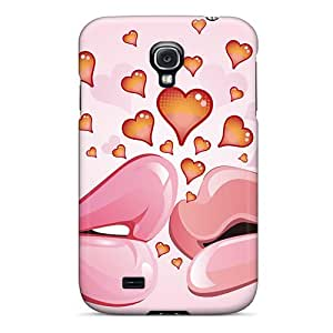 Top Quality Rugged First Kiss In Love Case Cover For Galaxy S4