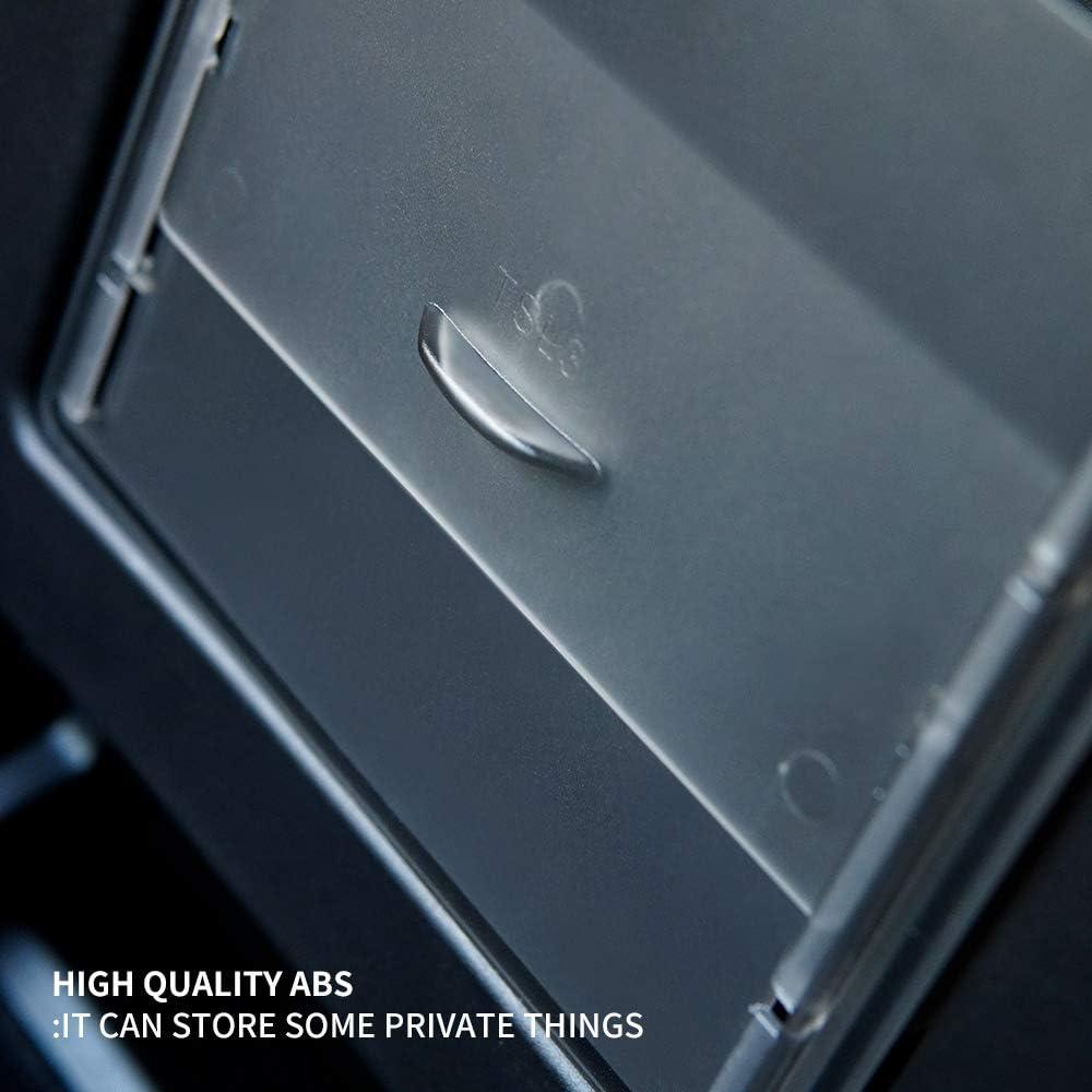 NoBrand Adapt/ée pour Tesla Model 3 Centrales Console Organisateur Accoudoir Cach/é Bo/îte de Rangement Accessoires