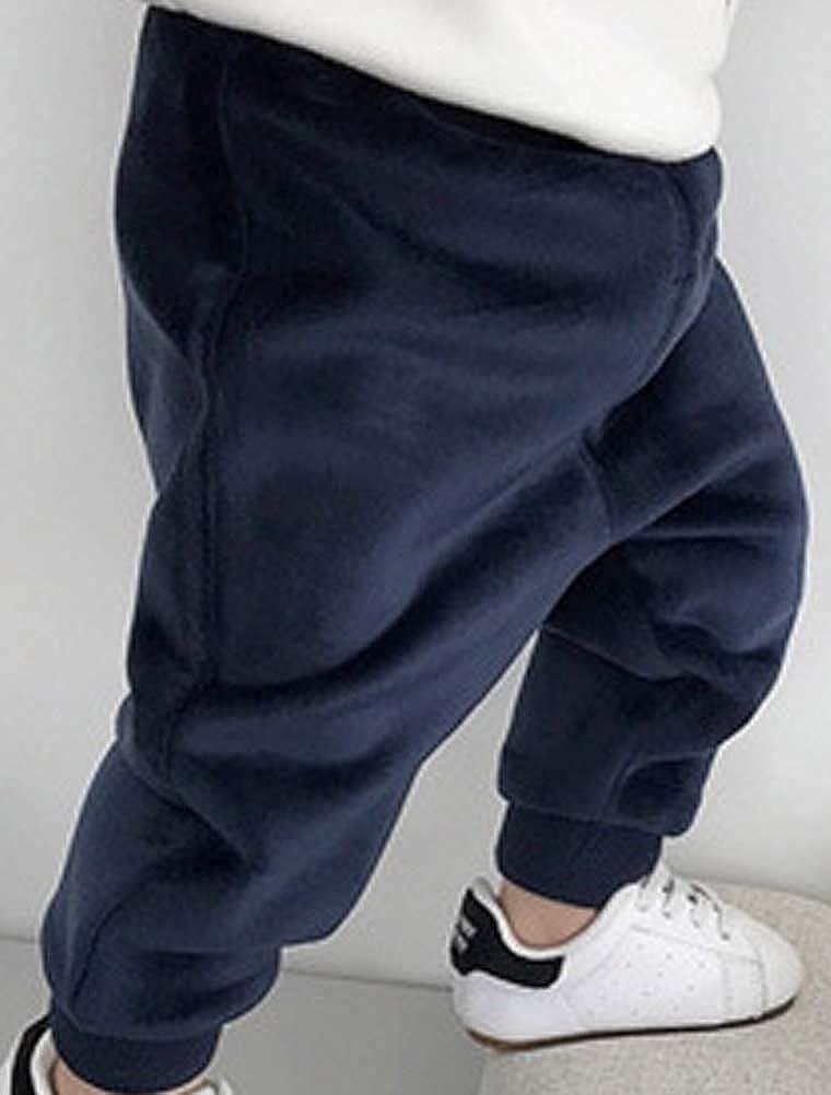 ARAUS Baby Thermo-Hosen Winterhosen Unisex Warm Fleecehosen mit Samt 3 Monate-3 Jahre
