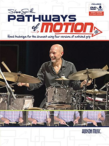 Steve Smith Pathways of Motion (w/DVD/Download) [Steve Smith] (Tapa Blanda)