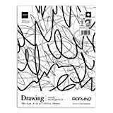 Fabriano Fat Drawing Pad, 9 x 12 Inches, 70 lb, 150