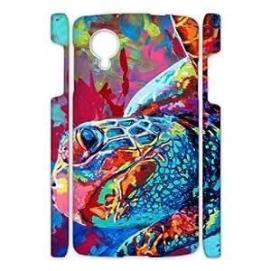 Canting_Good Sea Turtle Custom Case Shell Skin for Google Nexus 5 3D
