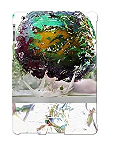 Hot Snap-on Liquid Around Shard Sphere Hard Cover Case/ Protective Case For Ipad 2/3/4