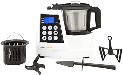 Top SHOP Newlux Top Cook Robot multifunción digital 2 L 9 velocidad 1300 W: Amazon.es: Hogar