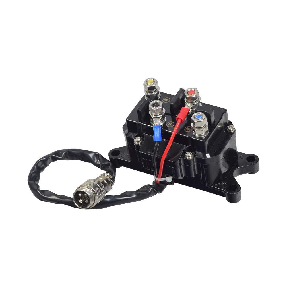 AlveyTech 12 Volt Winch Solenoid Relay for ATVs (Non-Hisun) by AlveyTech