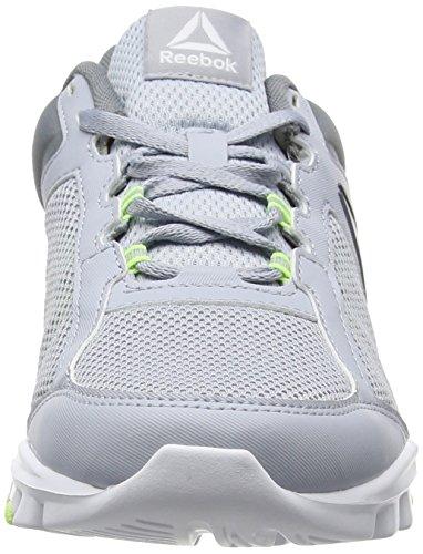 Reebok Bs8038, Zapatillas de Deporte para Mujer Gris (Cloud Grey / Asteroid Dust / Electric Flash / White)