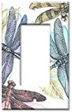 Art Plates - Dragonflies Switch Plate - Single Rocker