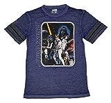 Star Wars Vintage Image Hockey Graphic T-Shirt - 2XL