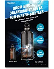 CleanHike Water Bottle Cleaning Tablets - (30 Tablets) All Natural Ingredient, Great for All Stainless, Plastics, Ceramic and Glass Drinking Containers, Individually Packed, FDA Registered