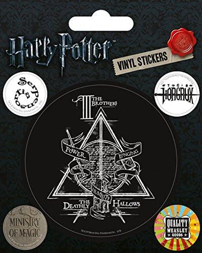 Harry Potter 1art1 Symbole Heiligtümer Des Todes Zauberministerium Weasley Produkte Poster Sticker Tattoo Aufkleber 12 X 10 Cm Küche Haushalt
