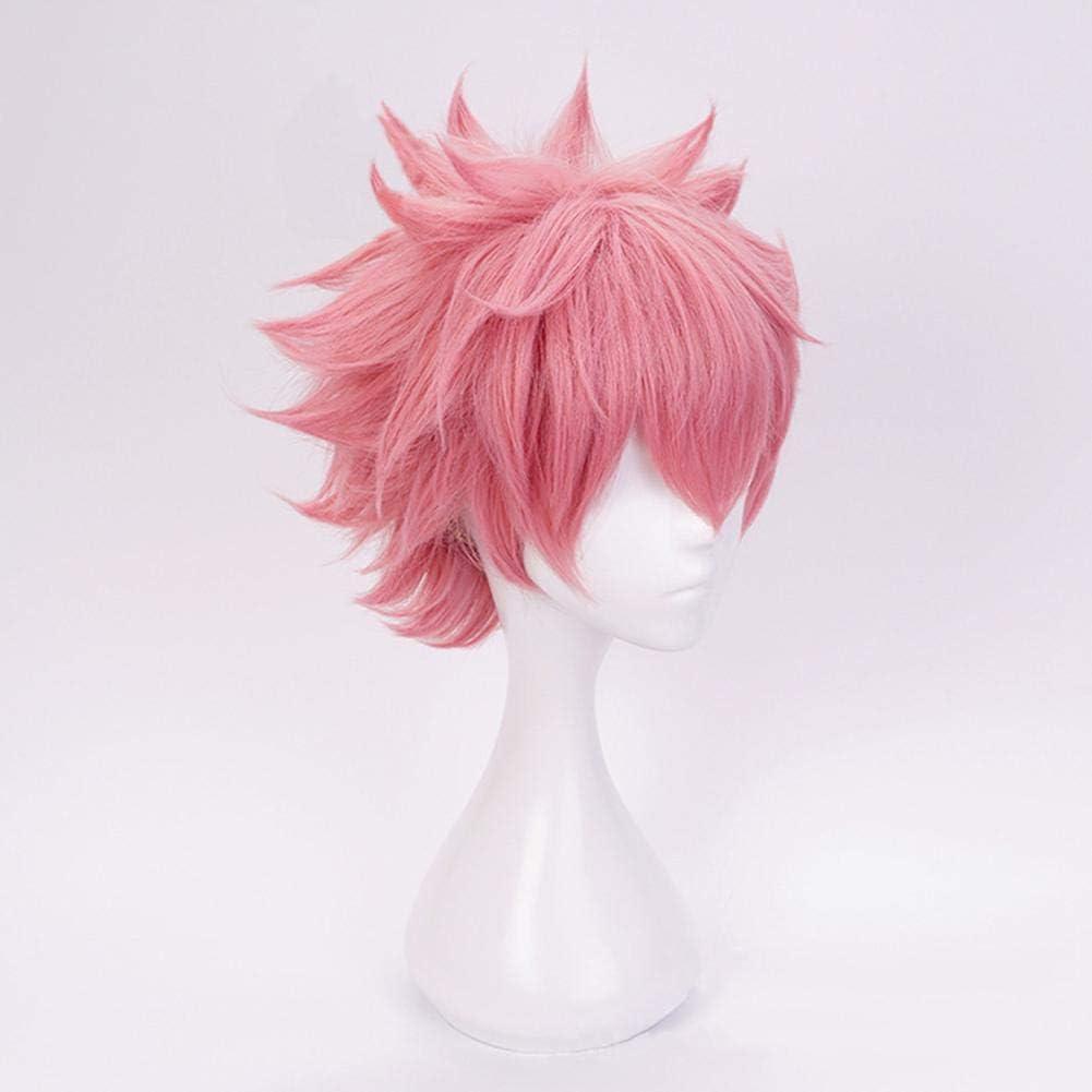 Coppia di corna anime My Hero Academia Mina Ashido Cosplay con scatola Pinky Copricapo Clip per capelli Oro Accessori Puntelli Halloween