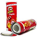 Pringles Safe Can Diversion Original (Red). Hyper Realistic Portable Storage for Hiding Cash, Jewelry, Money, Stash, Keys, Where No One Will Expect. Includes Exclusive WENEED Scoop Card.