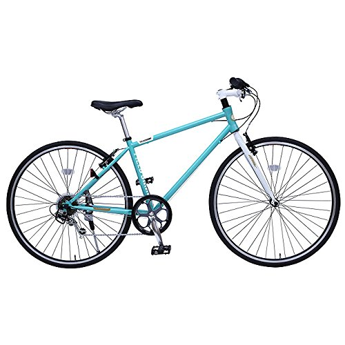 フィールド チャンプ【FIELD CHAMP】 自転車 CROSSBIKE 700C 6S MG-FCX700CE 1710 ライトブルー B076DKCG89