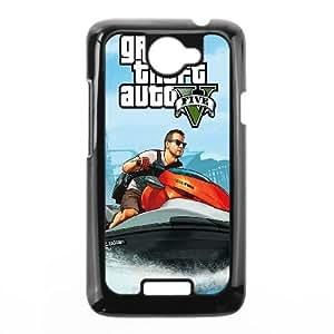 HTC One X Cell Phone Case Black GTA 5 Michael On Jetski BNY_6813382