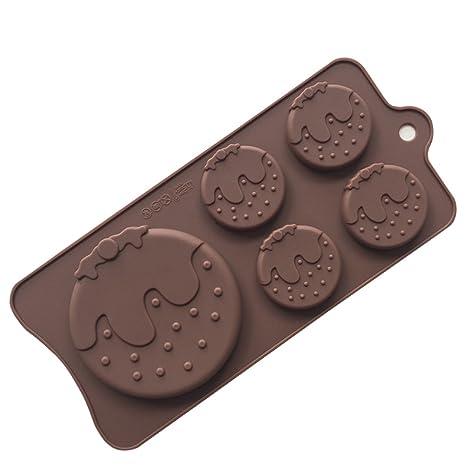 Ndier Molde de Silicona Torta, Molde de Pastel para Hornear del Chocolate,Caramelo y