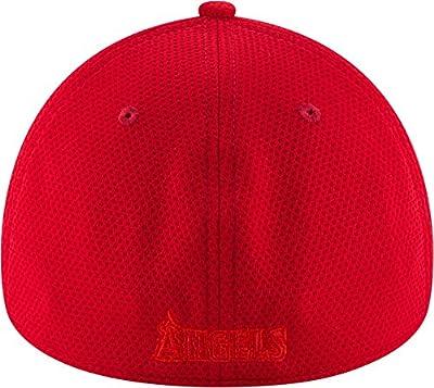 New Era Men's Los Angeles Angels 39Thirty Tone Tech Red Flex Hat