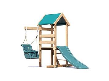 Kinder Klettergerüst Holz : Outdoor kletterger�st f�r kleinkinder aus holz spielturm