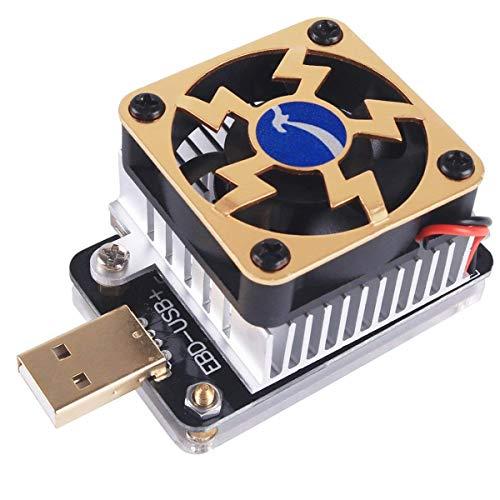MakerHawk USB Electronic Load Tester EBD-USB+ Discharging USB Load Resistor Tester Constant Current Load 35W for QC2.0/3.0 MTK-PE Trigger Voltage Current Capacity Tester by MakerHawk