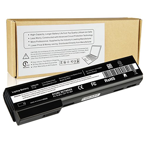 Futurebatt Laptop Battery for HP EliteBook 8460P 8460W 8470P 8560P 8570P; HP ProBook 6360B 6460B 6465B 6470B 6560B 6565B 6570B Notebook, P/N CC06 QK642AA 628666-001 630919-421 HSTNN-F08C HSTNN-OB2G