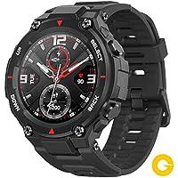Amazfit T-Rex Reloj Smartwatch Deportivo - 20 Días Batería, 12 Certificados Militares, 50m Agua, 14 Modos Deportivos…