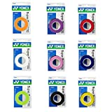 #6: Yonex Overgrip Super Grap 3 pack - Tennis, Badminton, Squash - Choice of colors