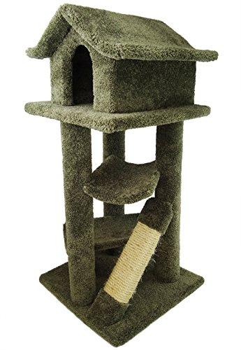 - New Cat Condos Premier Large Cat Pagodas Tree, Green
