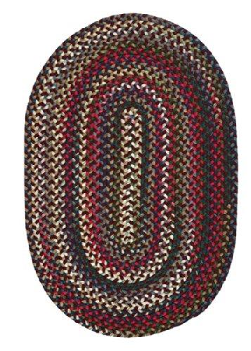 Chestnut Knoll Round Area Rug, 6-Feet, Amber Rose - Amber Rug Rug