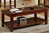 247SHOPATHOME IDF-4107C Coffee-Tables, Cherry