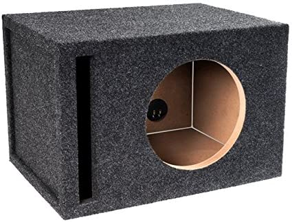 """Atrend 10W7SV 10/"""" Vented Enclosure w// 1/"""" Baffle for JL Audio 10W7 Car Subwoofers"""