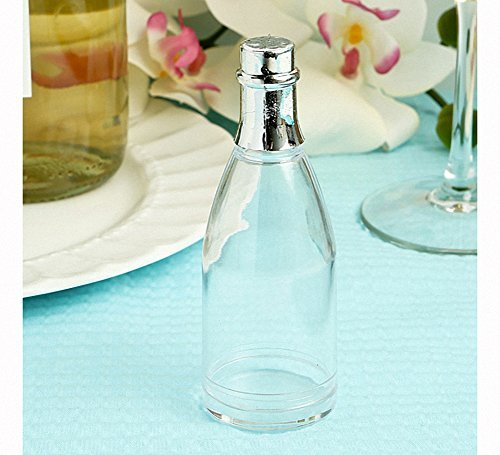 Clear Plastic Champagne Bottle Box From The Perfectly Plain, 60
